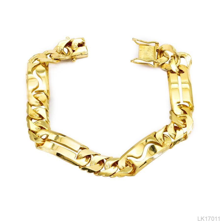 Lắc Tay Nam Vàng Vàng 14k - LK17011