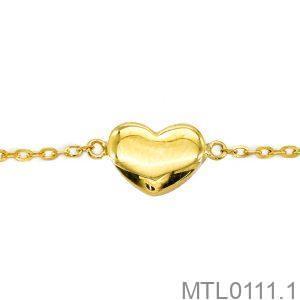 Lắc Tay Vàng Vàng 18k - MTL0111.1