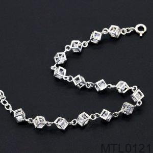 Lắc Tay Vàng Trắng 10k - MTL0121