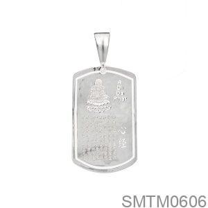 Mặt Dây Chuyền Bạc Nam - SMTM0606