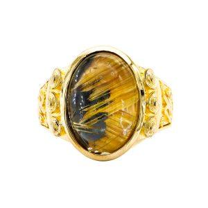 Nhẫn Nam Vàng Vàng 18k - MTN1266