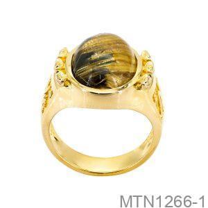 Nhẫn Nam Vàng Vàng 18K - MTN1266-1