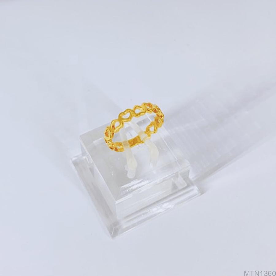 Nhẫn Nữ Vàng Vàng 10K - MTN1360