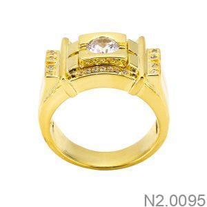 Nhẫn Nam Vàng Vàng 18k - N2.0095
