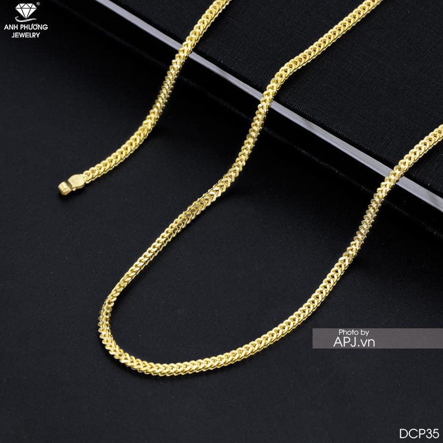 Dây chuyền vàng DCP35