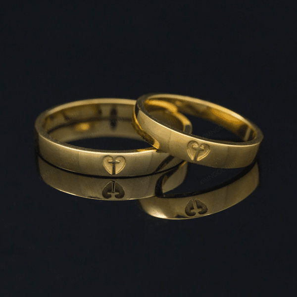 Những mẫu nhẫn cưới công giáo đẹp 2