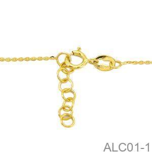 Lắc Tay Chân Vàng 18k - ALC01-1