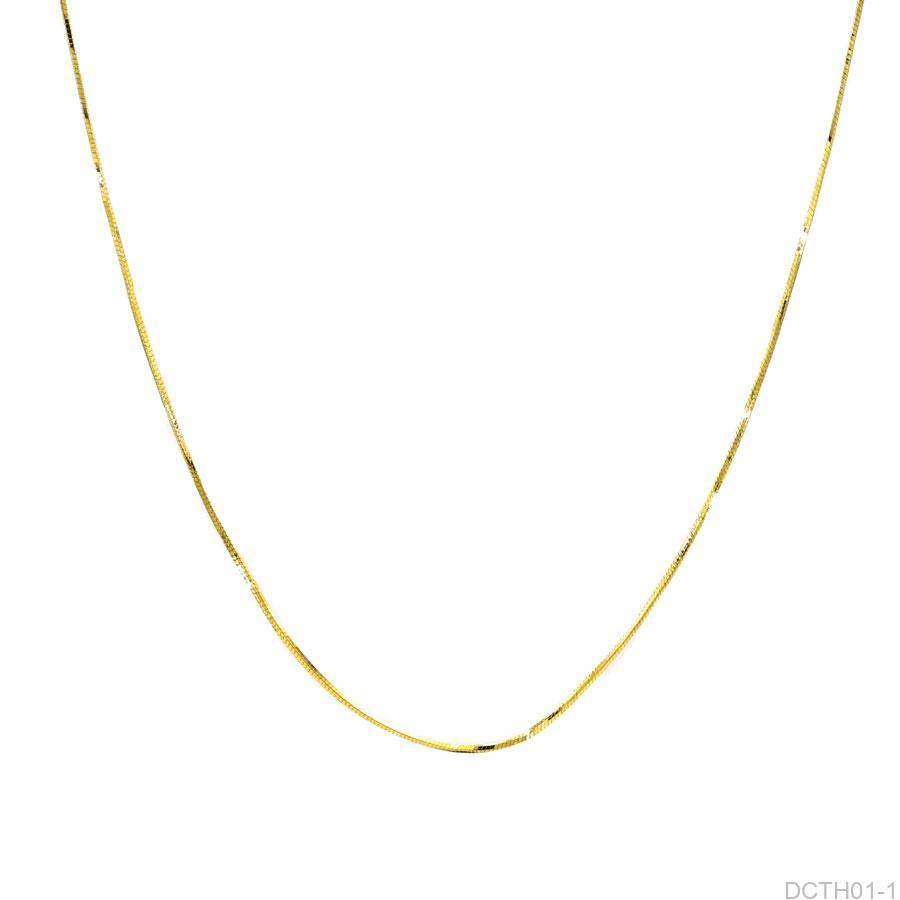 Dây Chuyền Vàng Vàng 18k - DCTH01-1