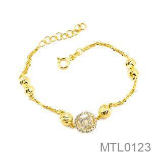 Lắc Tay Vàng Vàng 18k - MTL0123