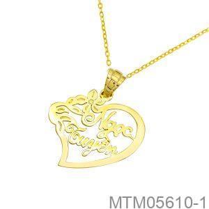 Mặt Dây Nữ Vàng Vàng 18k - MTM05610-1