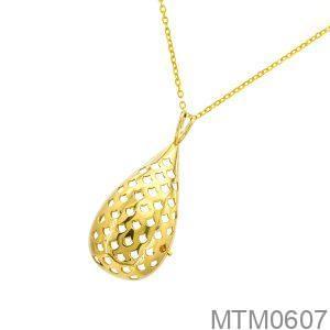 Mặt Dây Nữ Vàng Vàng 18k - MTM0607