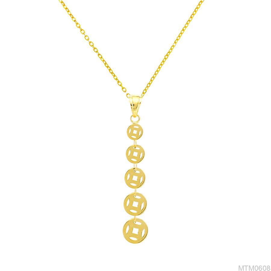 Mặt Dây Nữ Vàng Vàng 18k - MTM0608