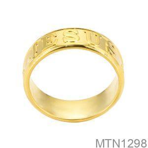 Nhẫn Nam Vàng Vàng 18k - MTN1298