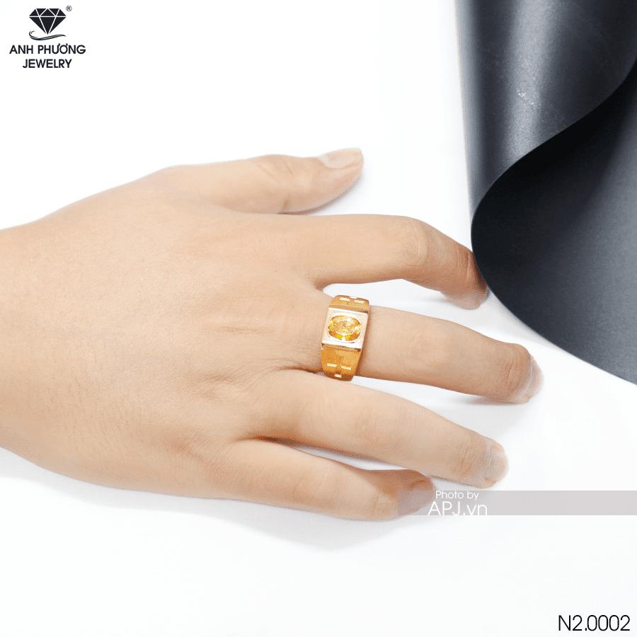 nhẫn vàng nam N20001