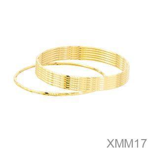 Vòng Ximen Vàng Vàng 18k - XMM17