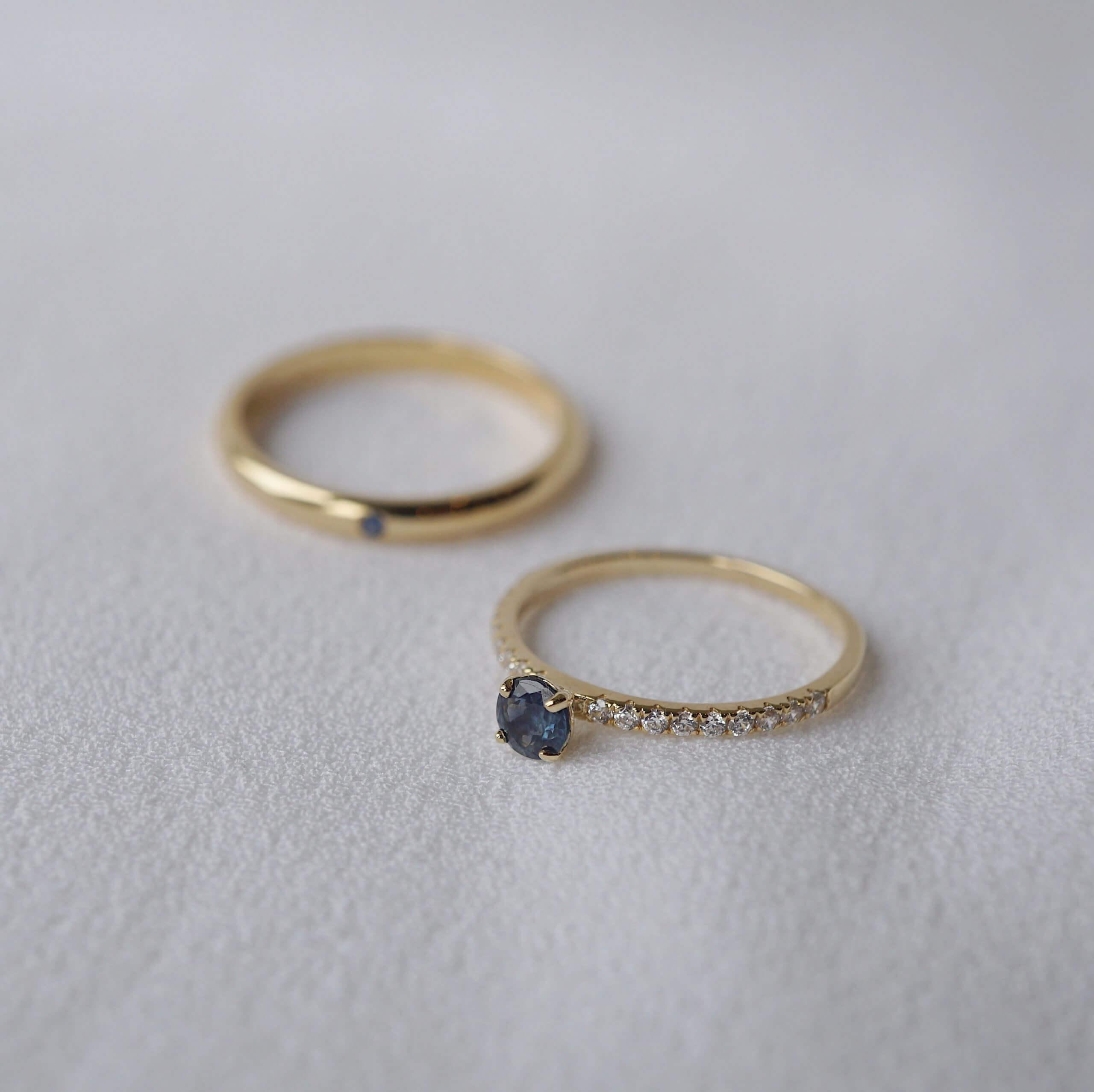 Nhẫn cưới đính đá có ý nghĩa gì?