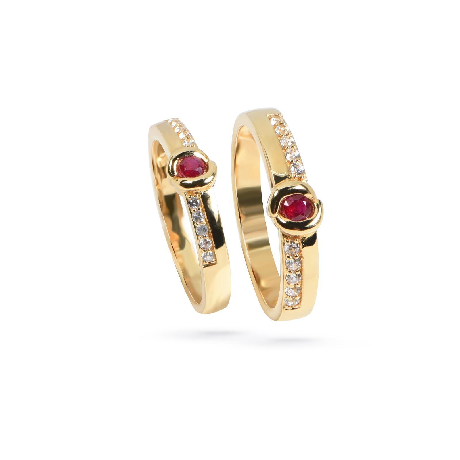 Nhẫn cưới đính đá có ý nghĩa gì? 2