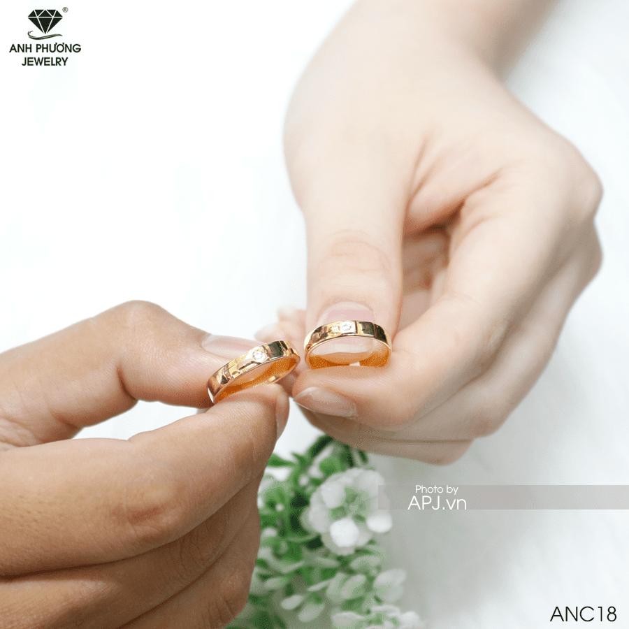 Nhẫn cưới vàng tại Phú Nhuận