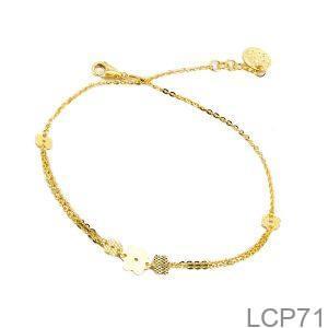 Lắc Chân Vàng Vàng 18K - LCP71