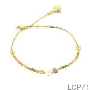Lắc Tay Vàng Vàng 18K - LCP71