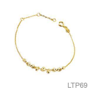 Lắc Tay Vàng Vàng 18K - LTP69