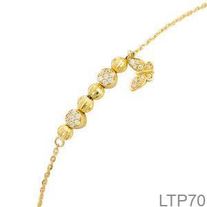 Lắc Tay Vàng Vàng 18K - LTP70