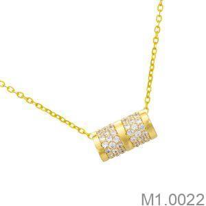 Mặt Nữ Vàng Vàng 18K - M1.0022