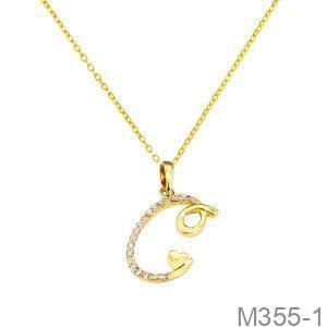Mặt Dây Nữ Vàng Vàng 18K - M355-1