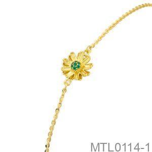 Lắc Tay Vàng Vàng 18K - MTL0114-1