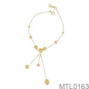 Lắc Tay Nữ Vàng Vàng 18K - MTL0163