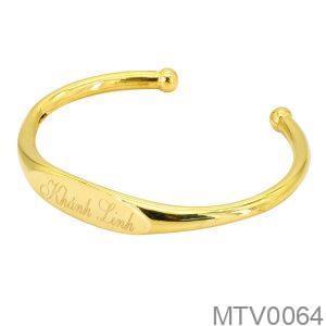 Vòng Tay Vàng Vàng 10K - MTV0064