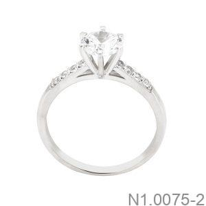 Nhẫn Nữ Vàng Trắng 10K - N1.0075-2