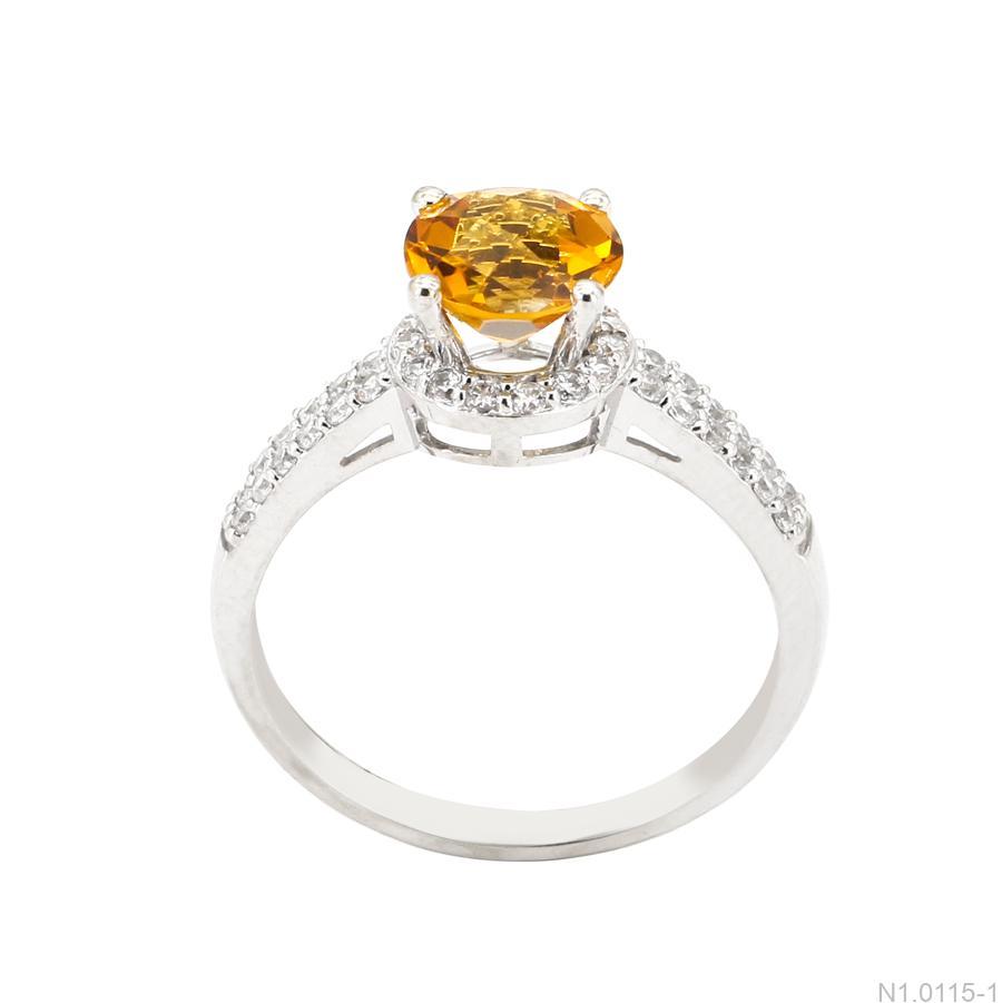 Nhẫn Nữ Vàng Trắng 10K- N1.0115-1