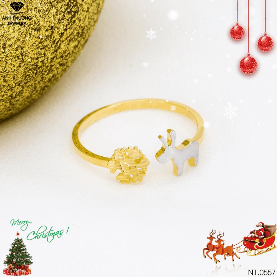 Nhẫn nữ vàng N1.0557