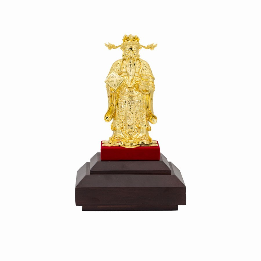 Quà tặng khai trương - Tượng Thần Tài dát vàng 24K