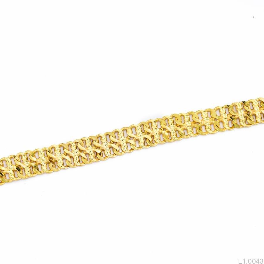 lắc tay nữ vàng 18k