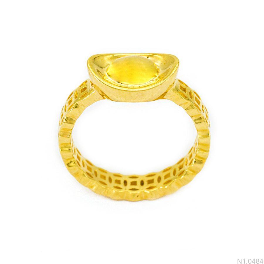 nhẫn kim tiền nữ