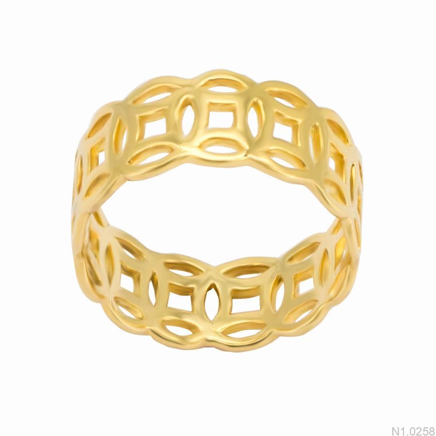 nhẫn kiểu nữ APJ vàng