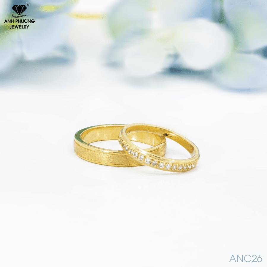 nhẫn cưới vàng xu hướng 2021