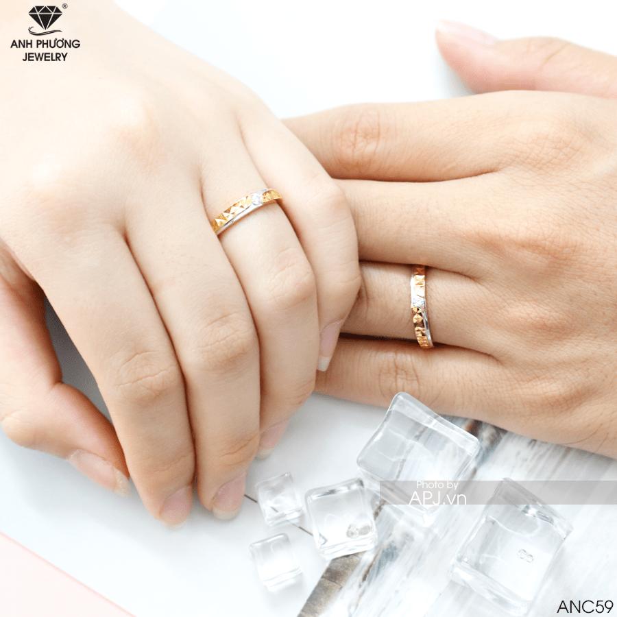 mẫu nhẫn cưới cặp đẹp