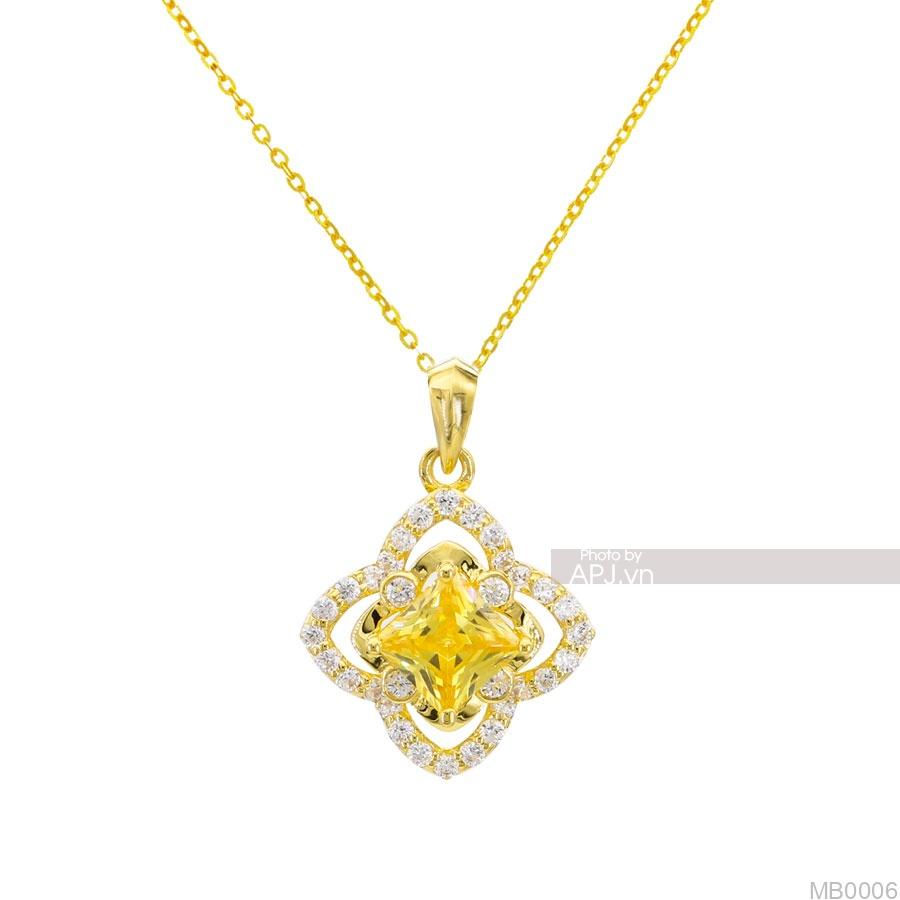 Mặt Nữ Vàng Vàng 14K - MB0006