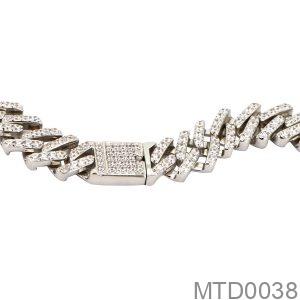 Dây Chuyền Nam Vàng Trắng 10K - MTD0038