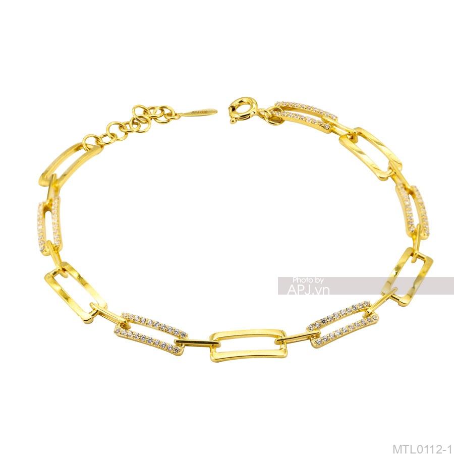 Lắc Tay Vàng Vàng 18K - MTL0112-1