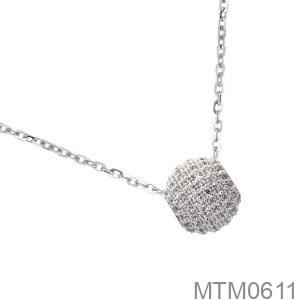 Mặt Nữ Vàng Trắng 10K - MTM0611