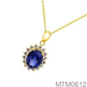 Mặt Nữ Vàng Vàng 18K - MTM0612