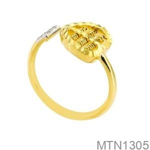 Nhẫn Nữ Vàng Vàng 18K - MTN1305