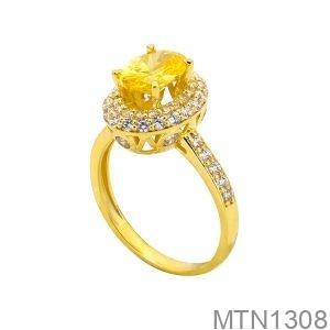 Nhẫn Nữ Vàng Vàng 18K - MTN1308