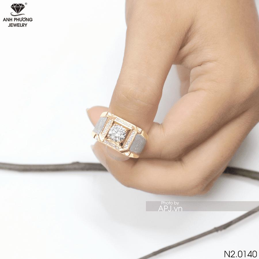 Nhẫn nam vàng đẹp