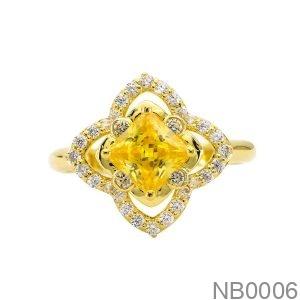 Nhẫn Nữ Vàng Vàng 18K - NB0006