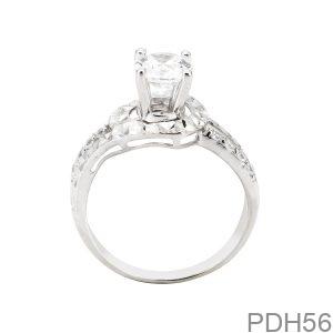 Nhẫn Nữ Vàng Trắng 10K - PDH56